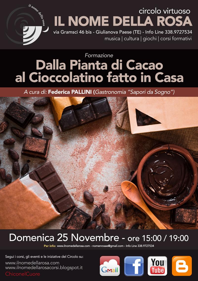 Dal cacao al cioccolatino