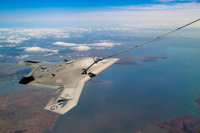 Autonomous  Refueling x-47b