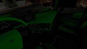 Colored interior light for Volvo 2012