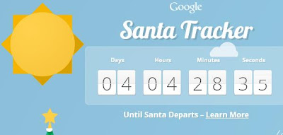Amazing Google Santa Tracker