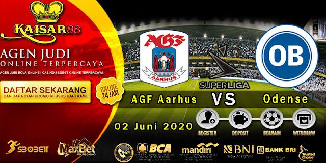 Prediksi Bola Terpercaya Liga Denmark AGF Aarhus vs Odense 02 juni 2020