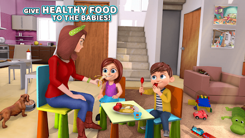 Virtual Baby Sitter Family Simulator