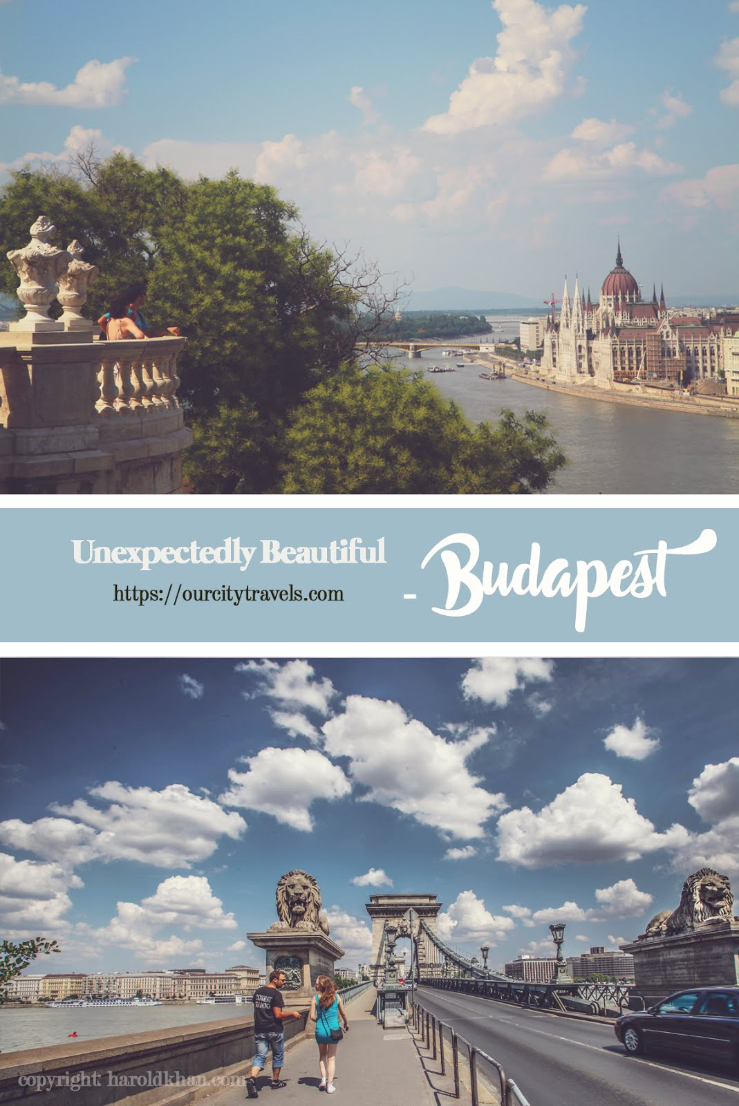 Unexpectedly clean, picturesque and familiar...these are my first impressions of Budapest. The clean streets are so very much like Vienna - only wider, the shopping streets like Paris - only cleaner but, it is unique in its own in terms of charm. Walking around, we felt safe.