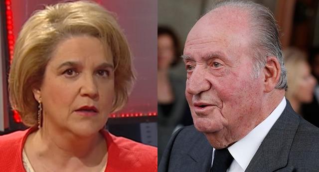 """Pilar Rahola denuncia """"tocamientos"""" por parte del rey emérito Juan Carlos de Borbón"""