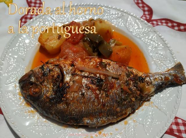 Dorada Al Horno A La Portuguesa