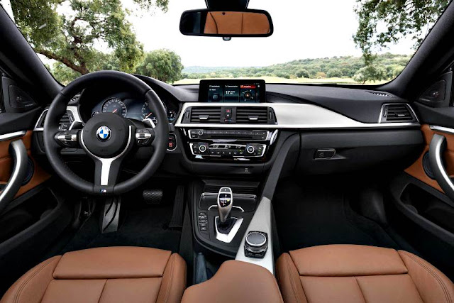 BMW 4-series Gran Coupé 2018 interior