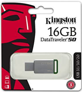 Kingston DataTraveler 16GB 3.0 Flash Drive Windows 7 / 8 / 8.1 / 10 All in One Bootable Pen Drive. By #mtech4you