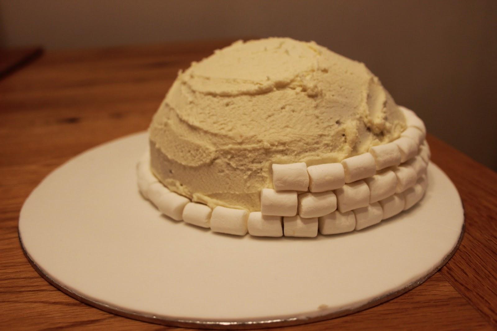 Igloo Birthday Cake Recipe