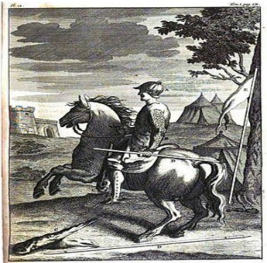 French estradioti and his arms. 1724(G. Daniel)
