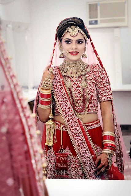 Bridal wedding makeup images