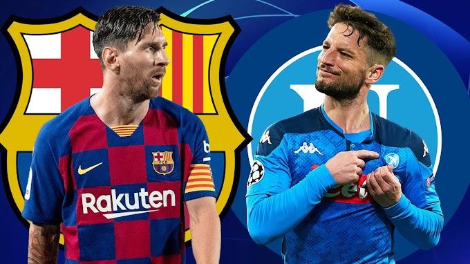 Barcelona vs Napoli prediction, Preview and Odds
