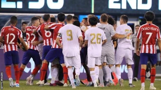[Outstanding goals] Real Madrid 3 - 7 Atlético de Madrid (Watch highlight)