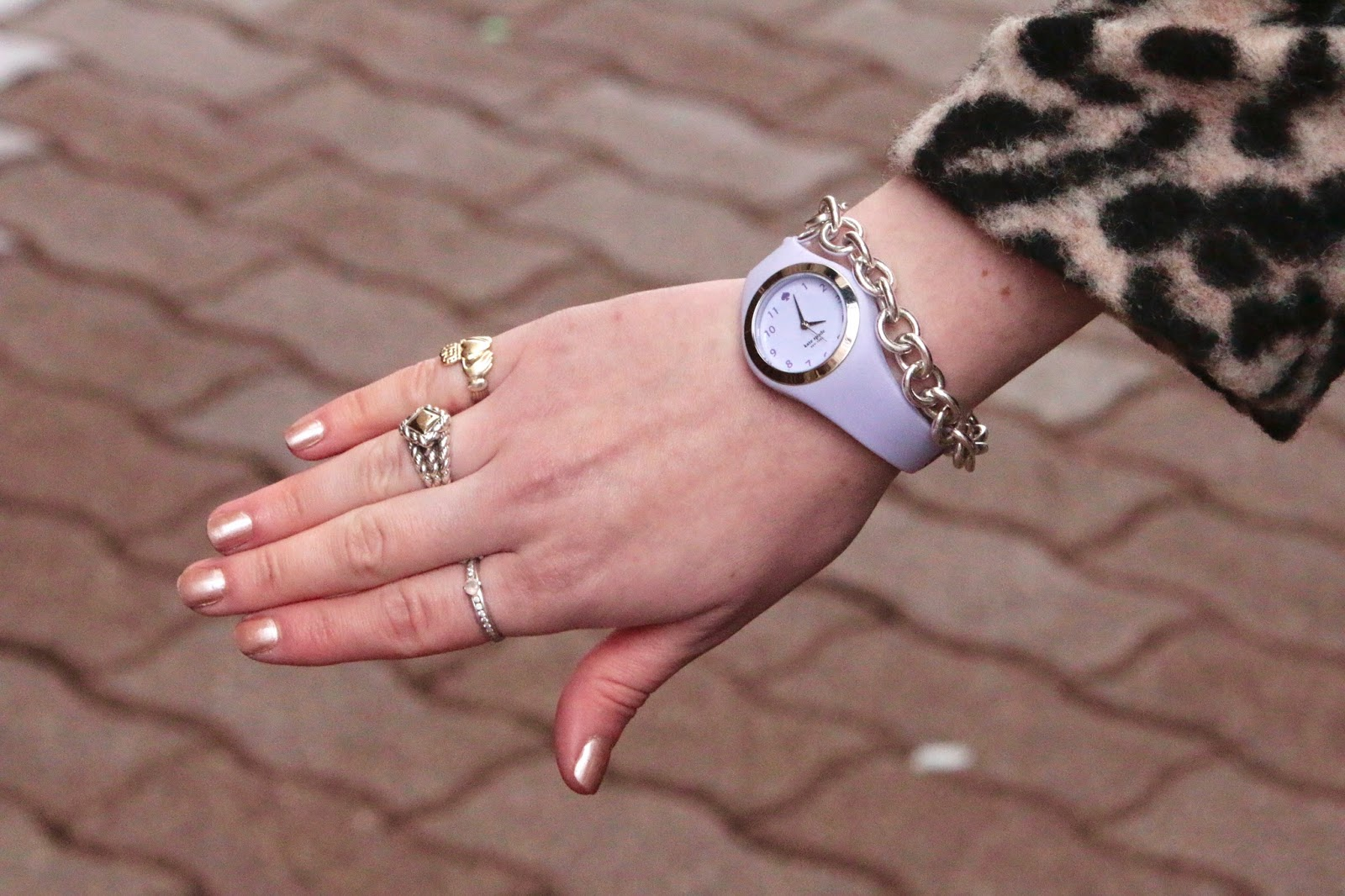Purple Kate Spade Watch