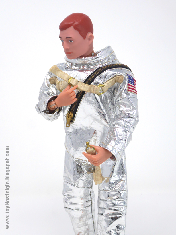 ACTION MAN Astronauta - Traje plateado (ACTION MAN ASTRONAUT HASBRO -PALITOY)