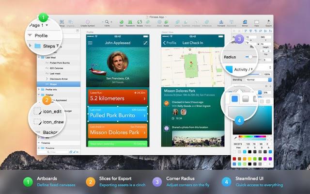 Sketch 71.2 – Phần mềm thiết kế tuyệt vời dành cho người dùng MacOS