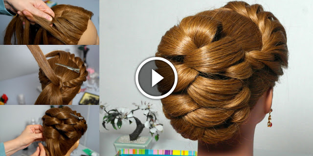 How To Create Quick And Easy Twist Braid Hairstyle, See Tutorial