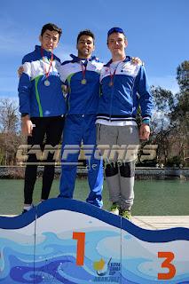 Campeonato de Madrid Invierno Piragüismo Aranjuez