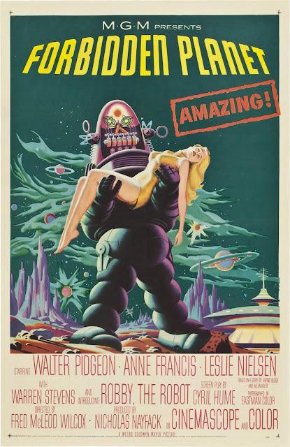 Póster película Planeta Prohibido