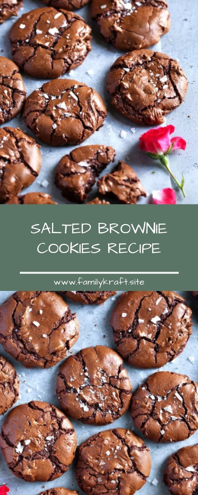 SALTED BROWNIE COOKIES RECIPE