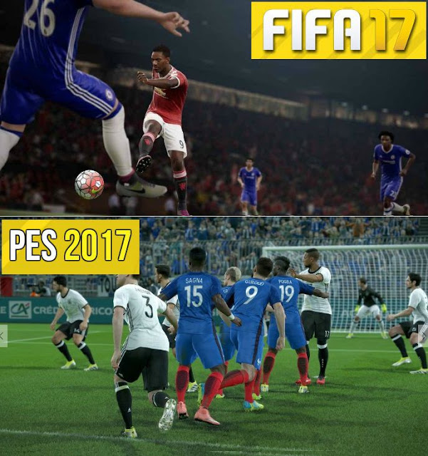 FIFA 17 vs PES 2017 Ultimate Comparison (Which game will be better ?)