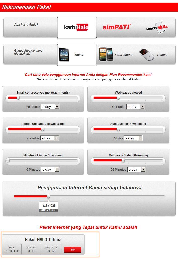 Pilih Paket Internet Mu dengan Fitur Rekomendasi Paket Telkomsel Flash