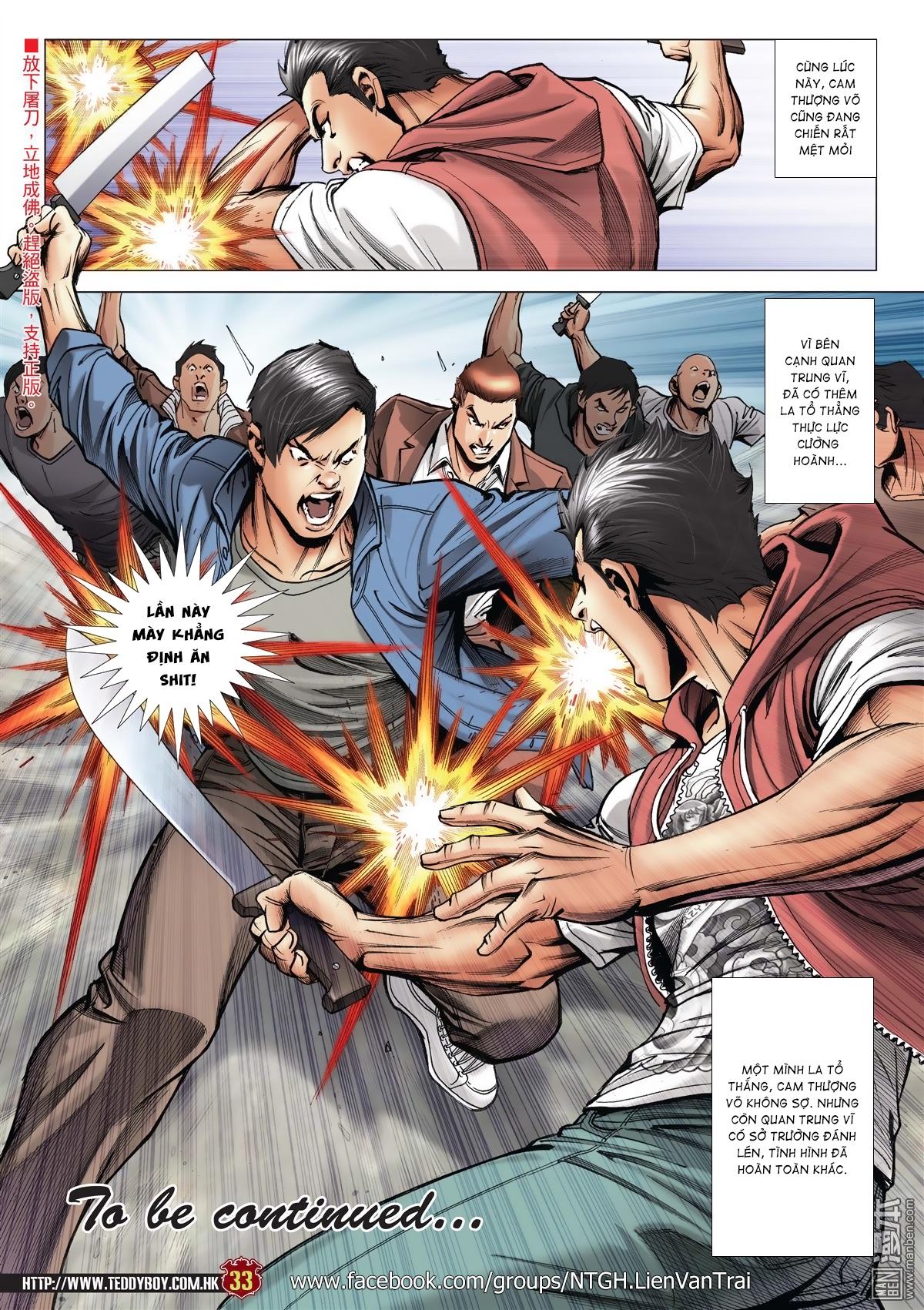 Người Trong Giang Hồ chapter 2015: tọa sơn hổ vs đại phạn trang 30