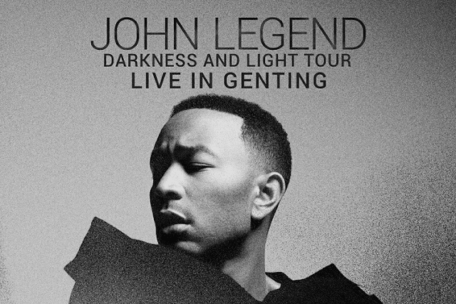 John Legend, Arena of Stars, Resorts World Genting,