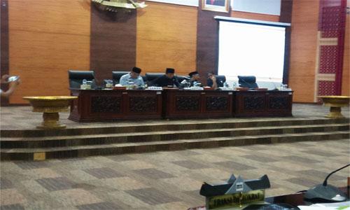 18 Ranperda Ditetapkan Masuk Dalam Propemperda Provinsi sumbar Tahun 2020
