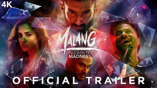 Malang Trailer | Aditya Roy Kapur, Disha Patani, Anil Kapoor, Kunal Kemmu | Mohit Suri | Paraoce Trailer
