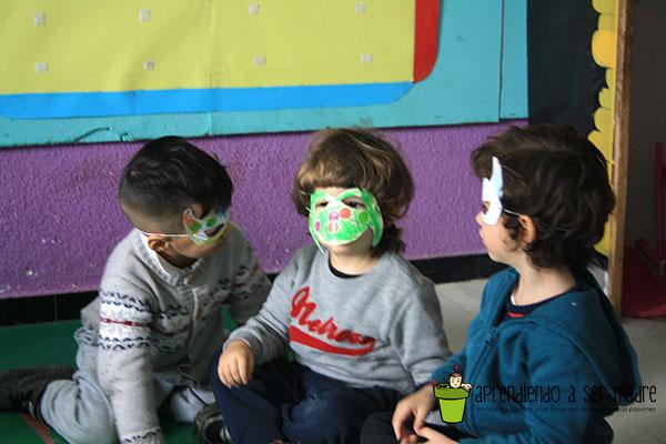 taller de mascaras para cumpleaños