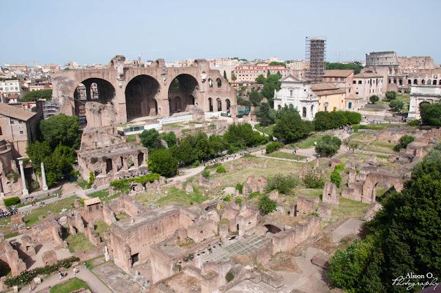 Citytrip Rome Italie Forum romain