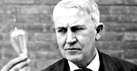 Fracasso dos Famosos - Thomas Edison