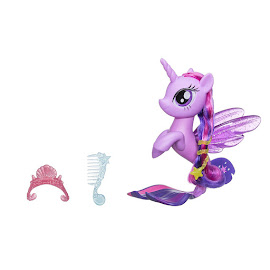 My Little Pony Glitter & Style Seapony Twilight Sparkle Brushable Pony