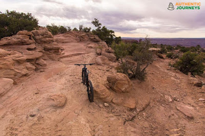 Mountain Biking at Dead Horse Point State Park, Utah