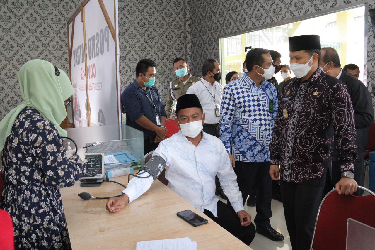 Menjadi Desa Bersih Narkoba, Desa Citaman Jernih dan Desa Bengkel Mendapat Penghargaan dari Pemkab Sergai