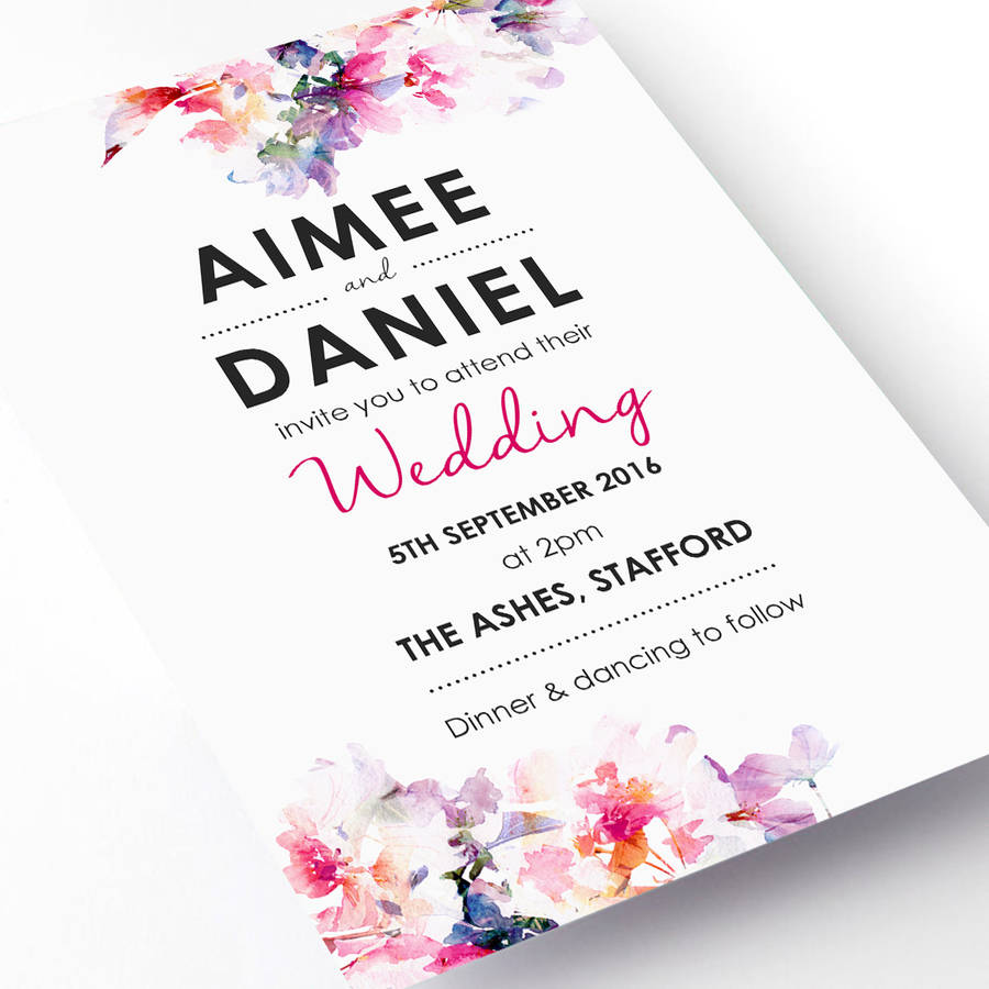 6 Wedding Invitation Trends Every Bride To Be Should See Right Now