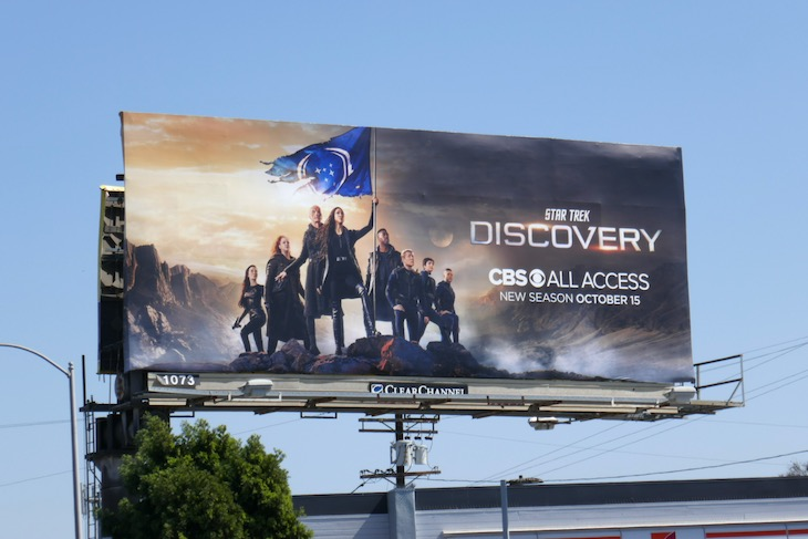 Star Trek Discovery season 3 billboard