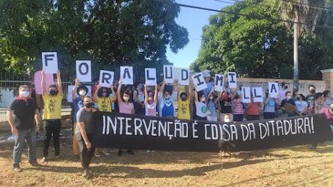 Estudantes e técnicos da Ufersa protestam contra nomeação da nova reitora