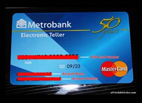 List of Requirements When Applying for Metrobank Debit ...
