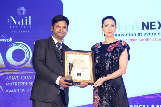 Asia's Quality and Entrepreneurship Award 2019 | Best Web Development and Industrial Training Company