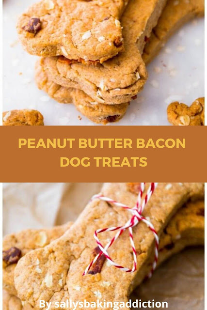 Homemade Peanut Butter Bacon Dog Treats