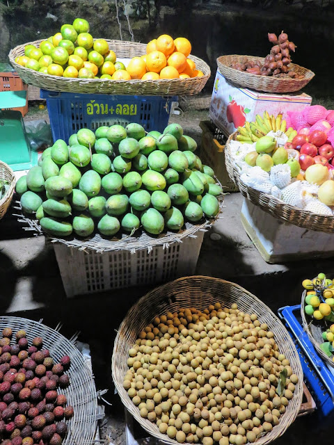 Fruit at the Psa Plaew 60 night market in Siem Reap Cambodia