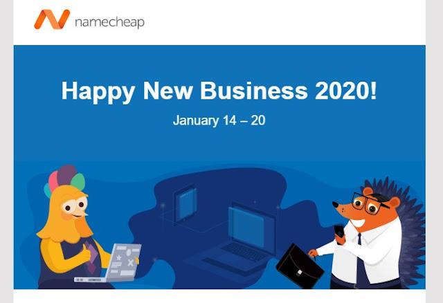 Namecheap - New Year Deal Offers till 20 th January  - Online Trade DD .