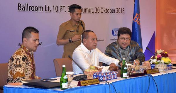 RUPS-LB Bank Sumut, Tolak Pengunduran Diri Eddy Rizliyanto