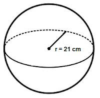 contoh soal luas permukaan bola