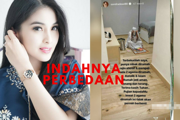 Miliki Agama Berbeda Sandra Dewi Unggah Foto ART Kenakan Mukena! Netizen Bangga