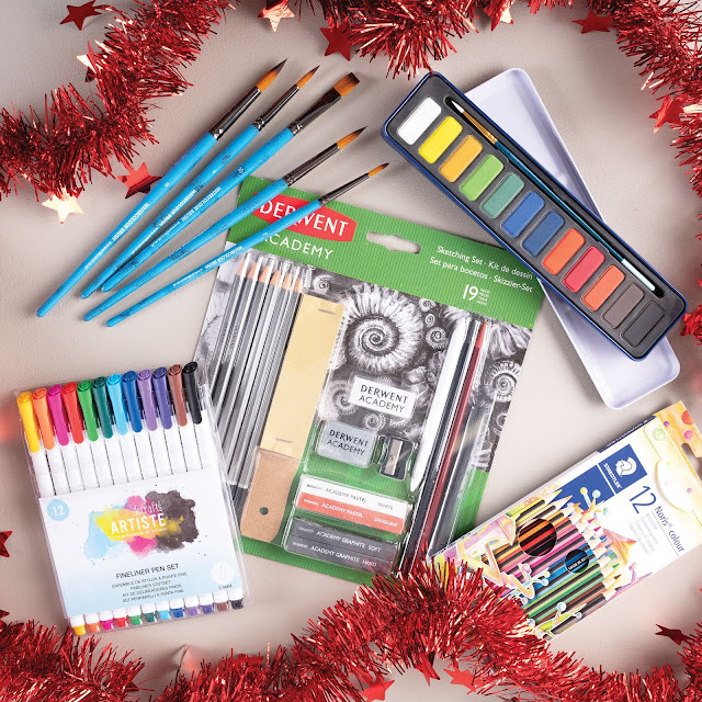 Art Beginners Christmas giveaway bundle