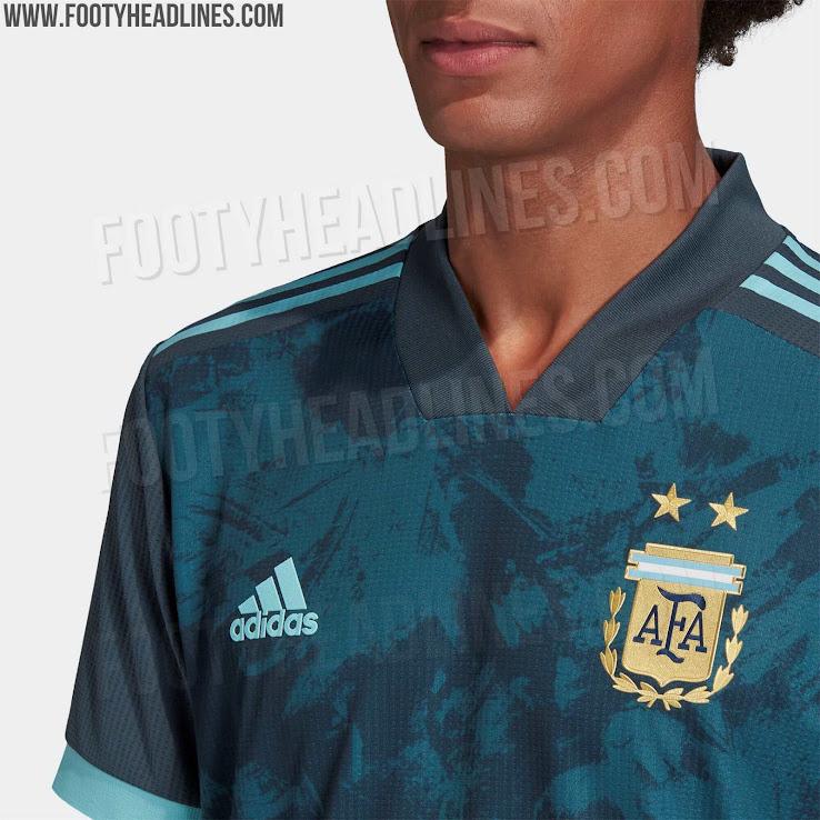 Argentina 2020 Copa America Away Kit 8 | Áo Bóng Đá Sum Store