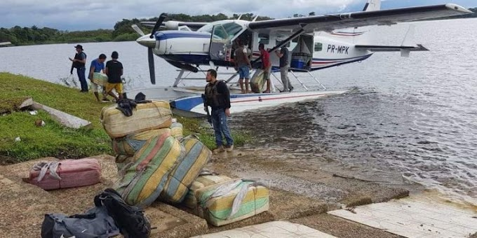 Polícia descobre nova rota do tráfico de drogas entre Colômbia e Manaus