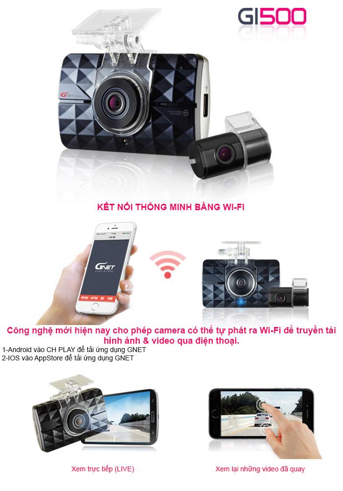 Camera hành trình Hàn Quốc kết nối wifi, hình ảnh cực sắc nét, giá hấp dẫn